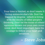 Steve Jobs Quotes About Time