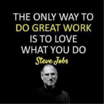 Steve Jobs Quotes on Love What You Do