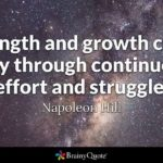 Strength And Growth Quotes Facebook