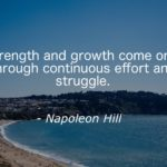 Strength Quotes by Napoleon Hill