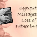 Sympathy Quotes For Loss Of Father In English