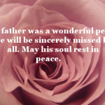 Sympathy Quotes For Loss Of My Father In Law