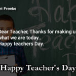 Teachers Day Wishes Facebook
