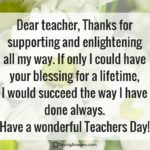 Teachers Day Special Words Tumblr