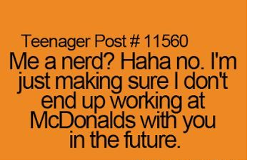 Teenager Post about Being In Love