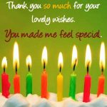 Thank You Quotes For Friends For Birthday Wishes