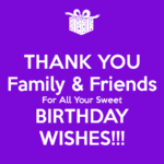 Thank You Quotes For Friends and Family