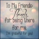 Thank You Quotes For Friendship