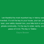 Thankful Quotes by Elayne Boosler
