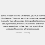 Thomas J. Stanley Quotes About Business