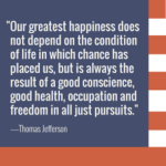 Thomas Jefferson Quotes About Chance