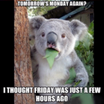 Tomorrow Is Monday Again Quotes