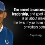Tony Dungy Quiet Strength Quotes Twitter