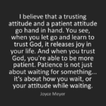 Trust Quotes by  Joyce Meyer