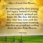 Uplifting Quotes About Death Of A Loved One