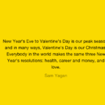 Valentine's Day Quotes by Sam Yagan
