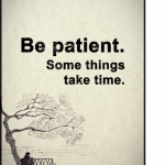 Very Patience Love Quotes