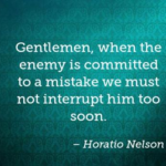Veterans Day Quotes by Horatio Nelson