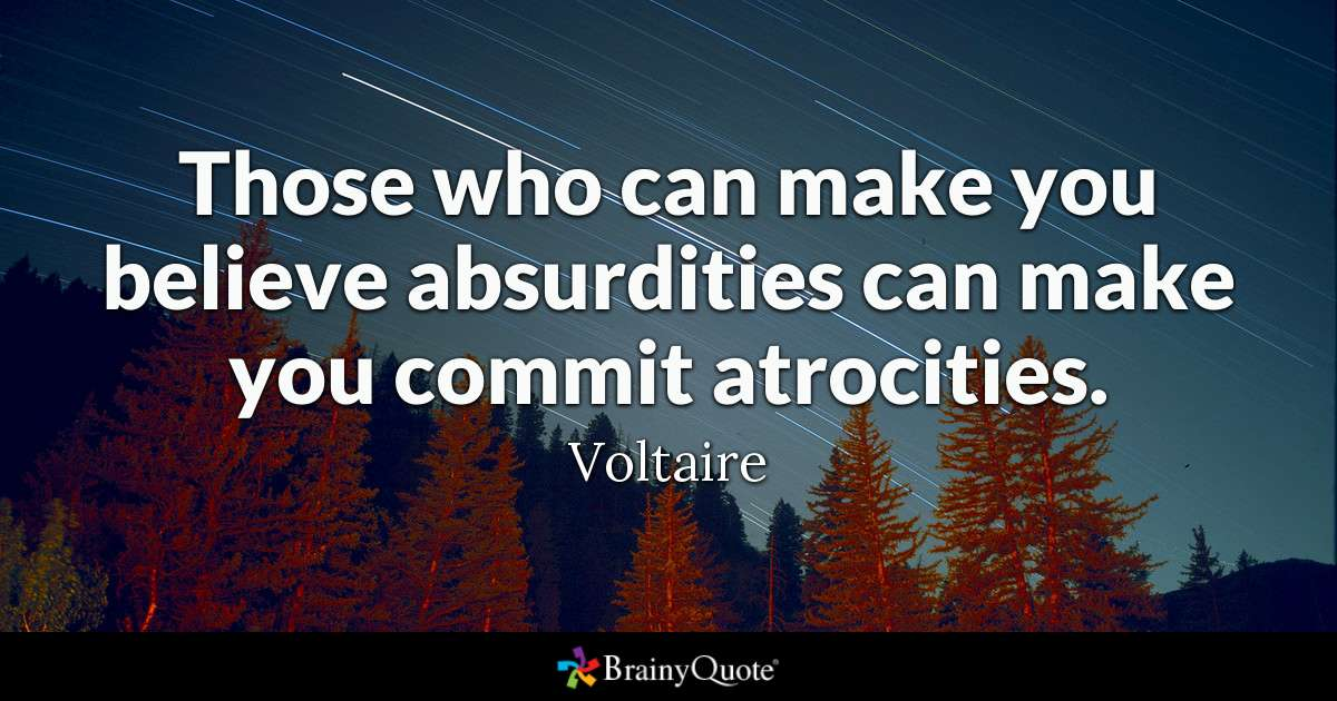 Voltaire Famous Quote Twitter