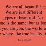 We Are All Beautiful Quotes Facebook