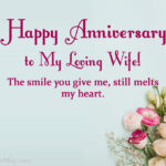 Wedding Anniversary Wishes From Husband To Wife Facebook