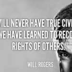 Will Rogers Quotes About Equality