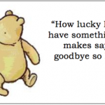 Winnie The Pooh Quotes How Lucky I Am