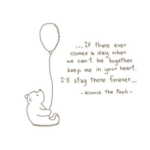Winnie The Pooh Quotes about Missing