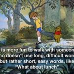 Winnie The Pooh Quotes and Sayings On Blustery Day
