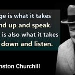 Winston Churchill Most Famous Quote Pinterest