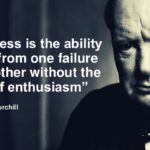 Winston Churchill Quotes Success Is The Ability
