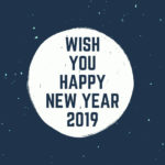 Wish You All Happy New Year 2019 Pinterest
