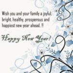 Wish You And Your Family Happy New Year 2021 Twitter