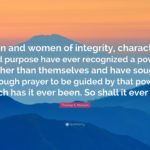 Woman Of Integrity Quotes Facebook
