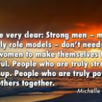 Women Quotes by Michelle Obama