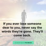 Words Of Strength After Death Pinterest