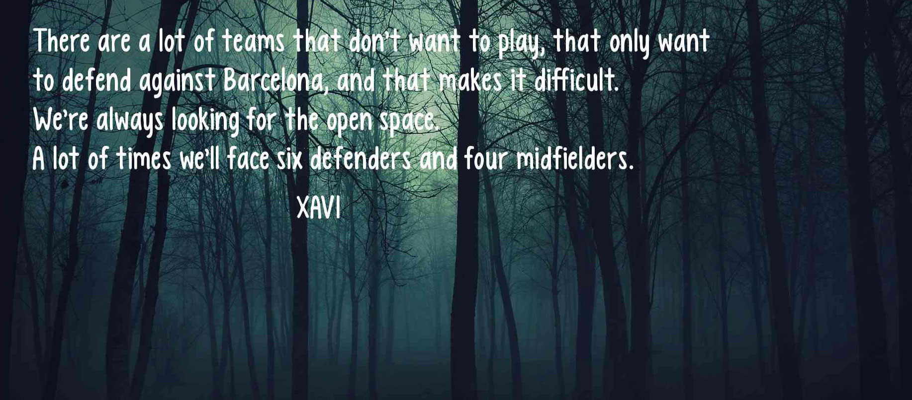 quotes by Xavi