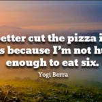 Yogi Berra Quotes About Food