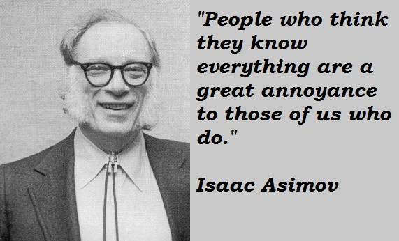 Isaac Asimov Quotes About Funny