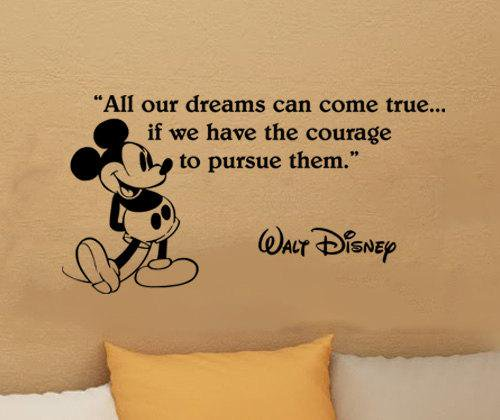 Quotes About Courage by Walt Disney