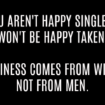Positive Singles Quotes